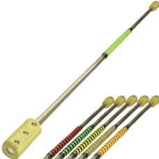 Jac Products 1.6m 100mm Aluminium Fire Staff